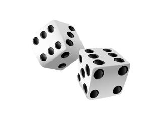 Screenshot of Two six-sided dice