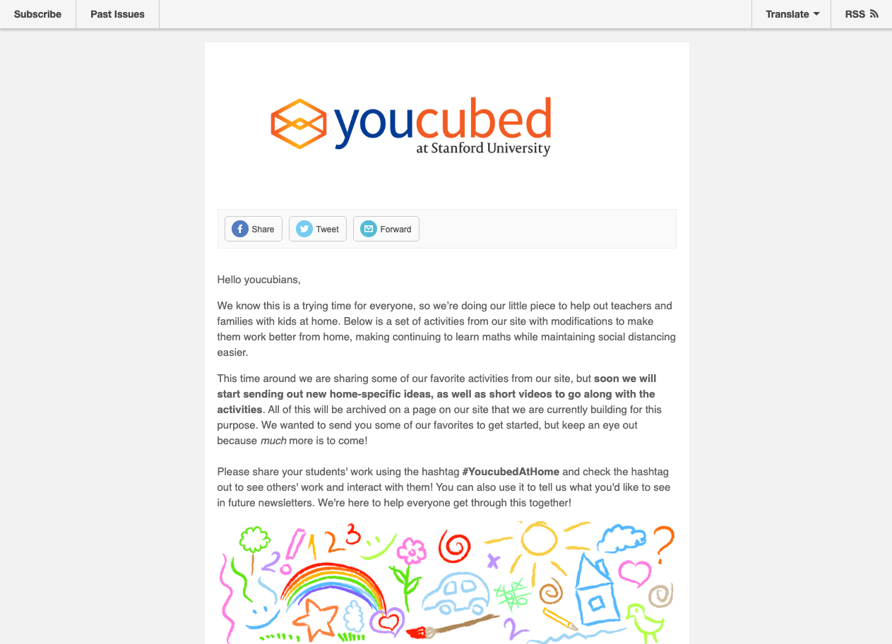 Screenshot of YoucubedAtHome