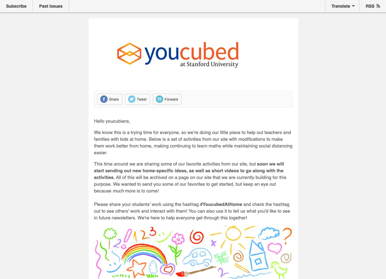 Screenshot of YoucubedAtHome