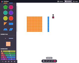 Screenshot of Mathigon