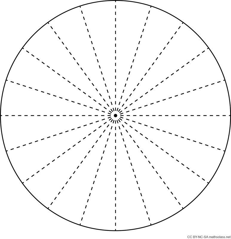 Blank Pie Charts - MathsFaculty