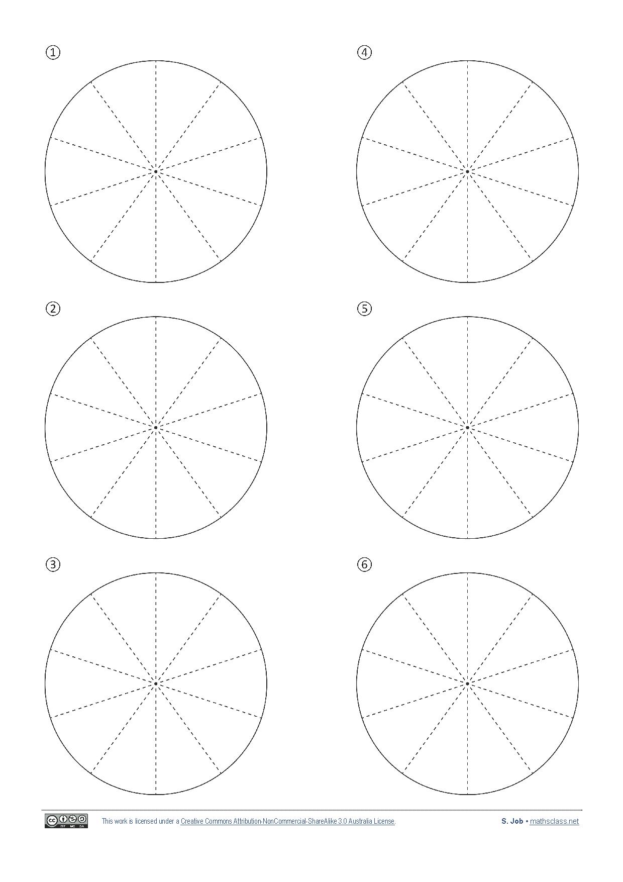 Blank Pie Chart...