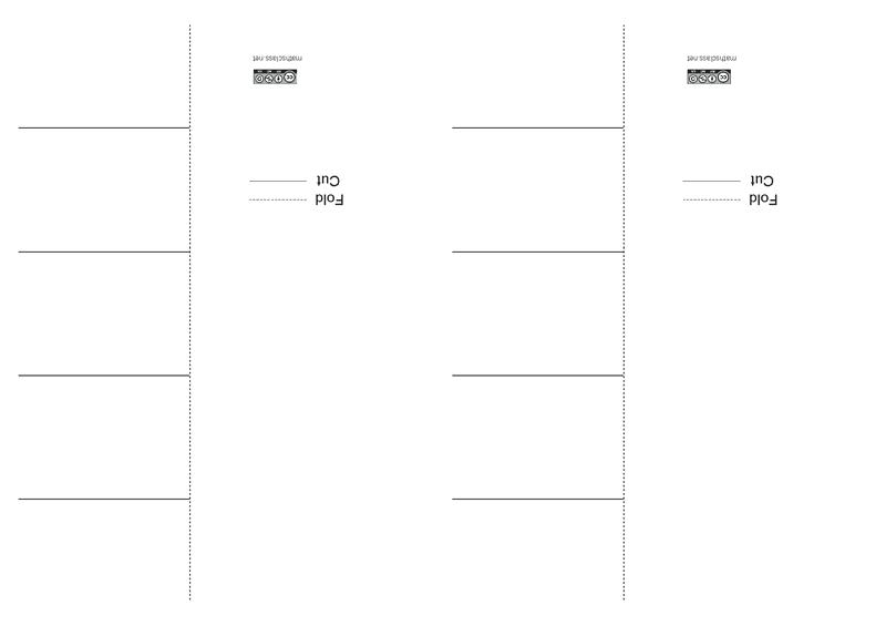 Foldable templates - MathsFaculty
